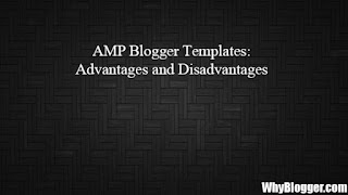 AMP Blogger Templates