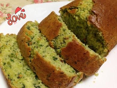 komatsuna cake