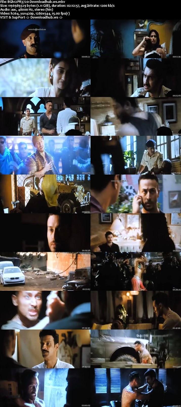Baaghi 2 2018 Hindi 720p Pre-DVDRip x264