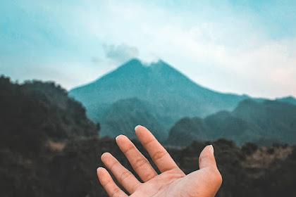 Waktu Terbaik Menikmati Gunung Merapi dari Bunker Kaliadem