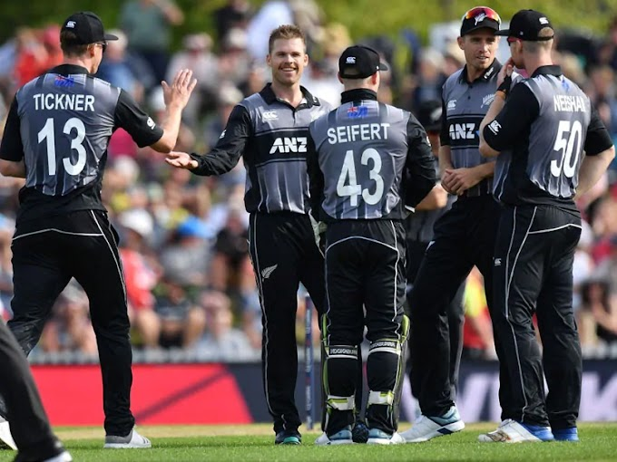 England lose the 3rd T20 against New Zealand, New Zealand go up 2-1 in the series