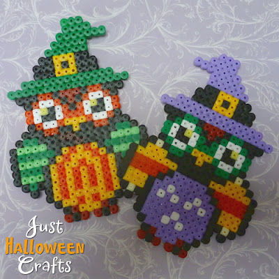 Halloween crafts with fused owl design pattern