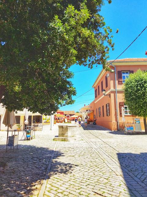 centrum miasta Nin, północna Dalmacja, okolice Zadaru