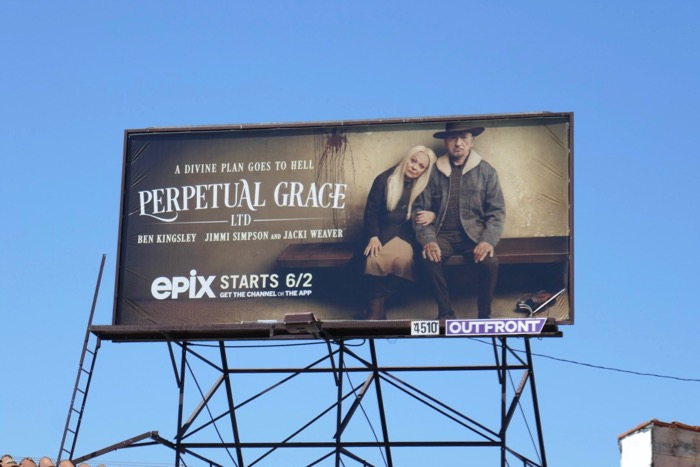 Perpetual Grace Ltd series premiere billboard