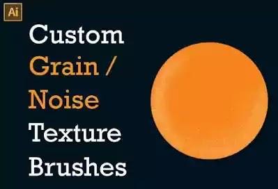 Custom Grain-Noise Texture Brushes