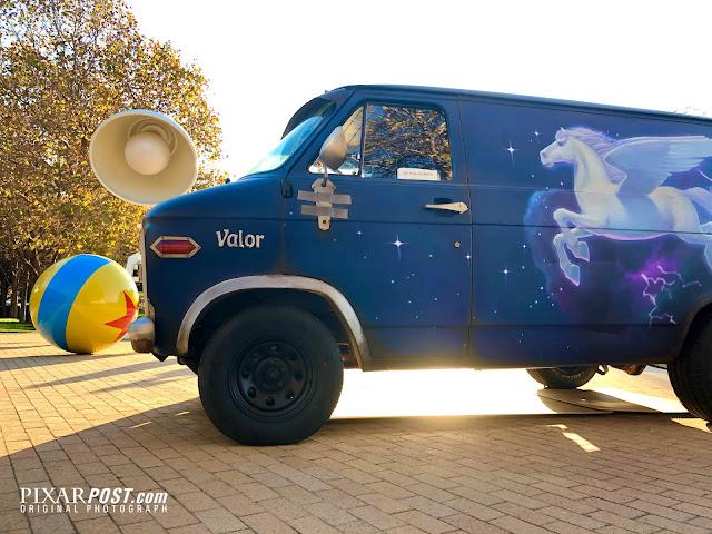 Pixar Onward Guinevere Van Tour