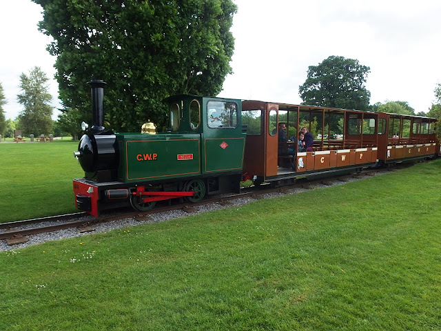 Another attraction at the Park - the miniature railway