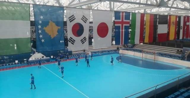 Spain puts Kosovo's flag beside the other states after warnings by the International Handball Federation