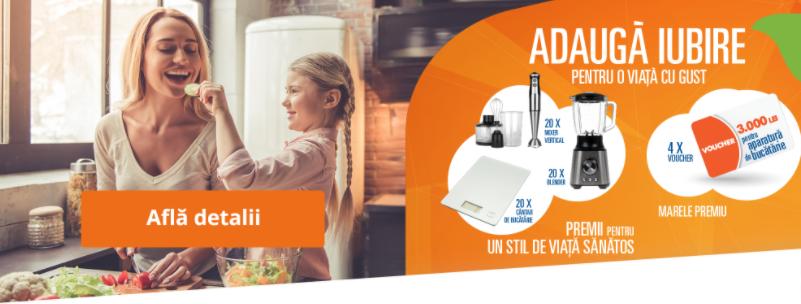 Concurs Nestle si La Doi Pasi - Castiga 4 vouchere eMAG pentru aparatura de bucatarie - castiga.net