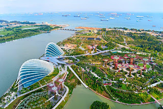 taman terbesar, taman di singapura, supertrees, taman kota singapura, tempat wisata di singapura