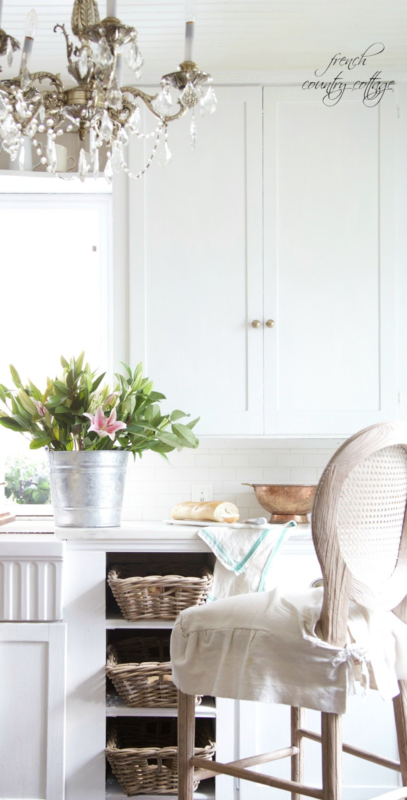 French Country Fridays Cane Back Stools French Country