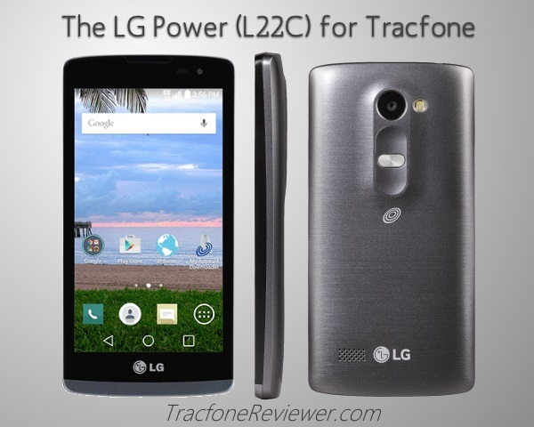 TracfoneReviewer: LG Power L22C Tracfone Android Review