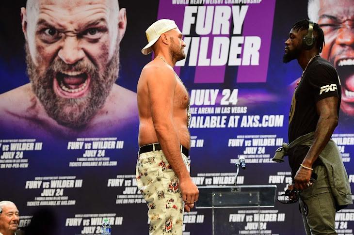 Tyson Fury vs. Deontay Wilder May Be Postponed