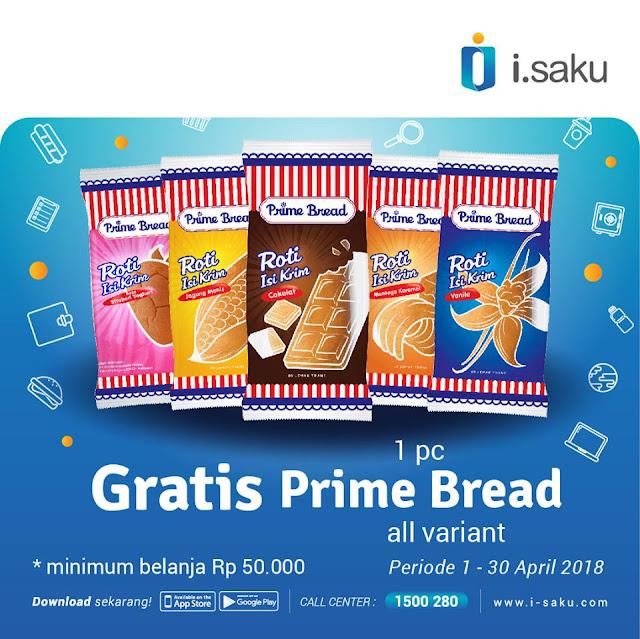 Gratis 1pc Prime Bread All Variant