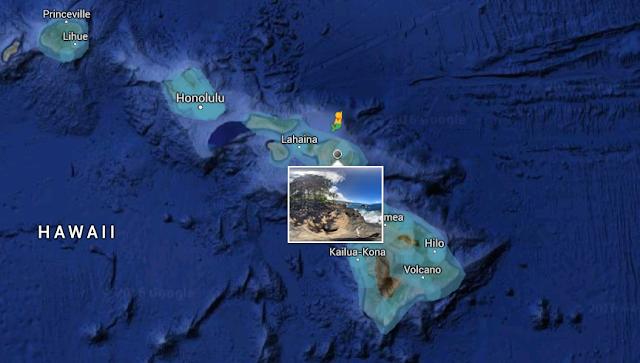 Google Easter Egg - Hawaii mermaid pegman