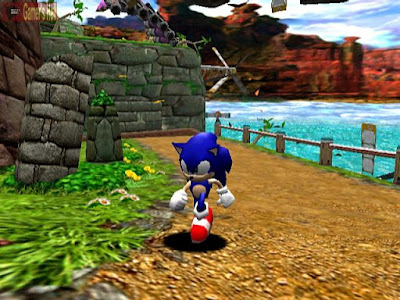 Sonic Adventure screenshot 1