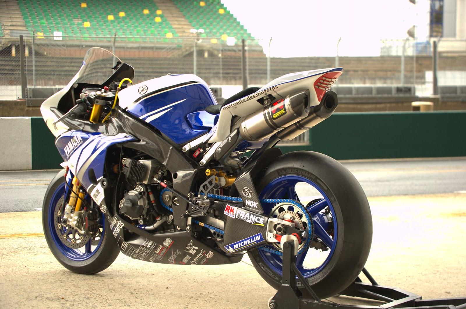 Racing Cafè: Yamaha YZFR1 Team GMT94 2013