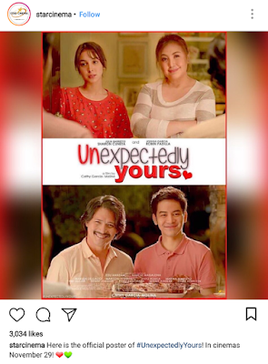 Like or Dislike: Official Poster and Teaser of Sharon-Robin and JoshLia Movie, 'Unexpectedly Yours'