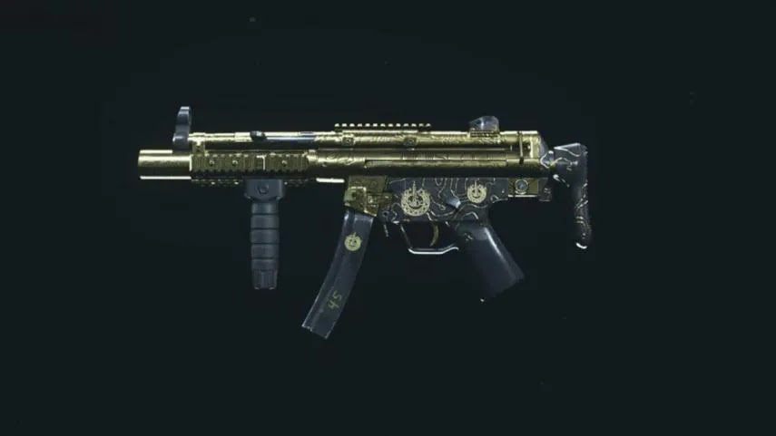 Best MP5 Class in COD Warzone
