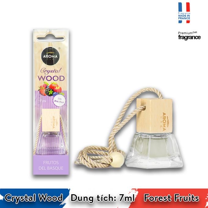 Aroma Car Crystal Wood - Forest Fruits
