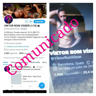 Viktor Rom envio un comunicado a todos sus seguidores
