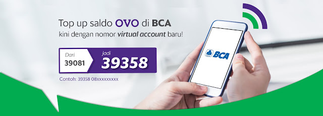 Cara Isi Saldo OVO Lewat Bank BCA