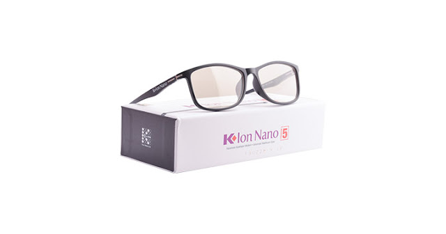 Kacamata K-ion Nano Premium 5 Black (Hitam)