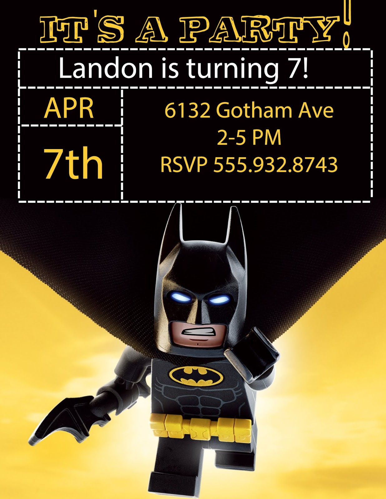 It is a graphic of Lego Batman Printable intended for diy