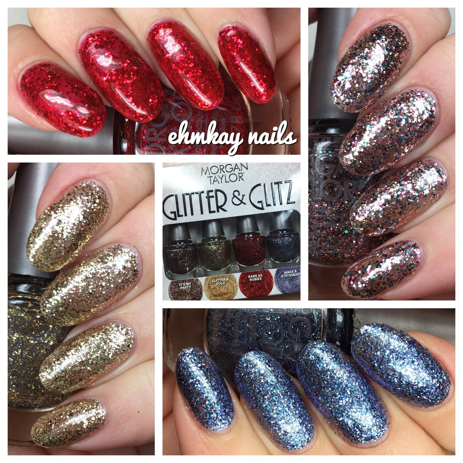 ehmkay nails: Morgan Taylor Glitter and Glitz Mini Collection