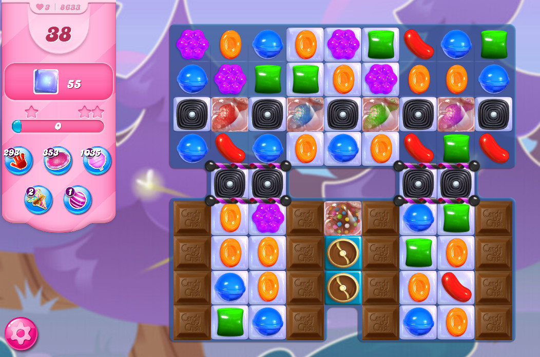 Candy Crush Saga level 8633