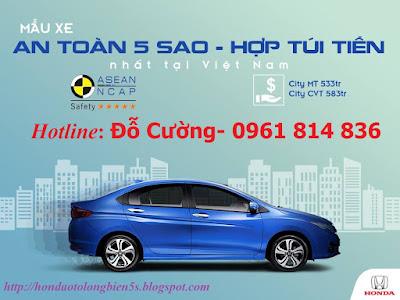 Honda City mẫu xe hợp túi tiền nhất tại Việt Nam
