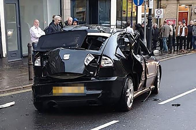 Mundo: Motorista explode seu carro ao acender cigarro após borrifar purificador de ar na Inglaterra