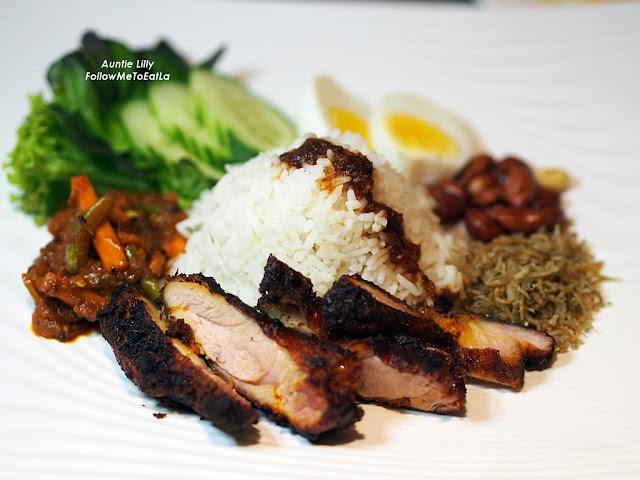 Nasi Lemak Gunung Berapi RM 29 Nett