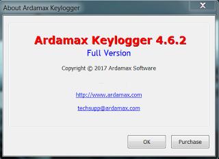 Ardamax Keylogger 4.6 incl Serial Key + Crack Full Version