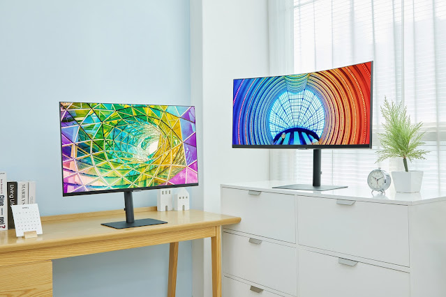 Samsung launches three new High-Res Monitors including S8, S7, and S6 - Features HDR 10 technology, 178-degree wide angle viewing and much more | TechNeg