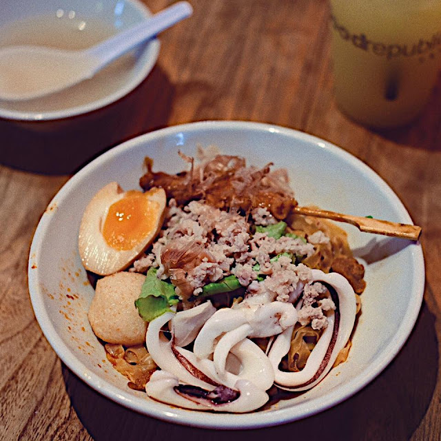 Guan's Mee Pok with Sotong