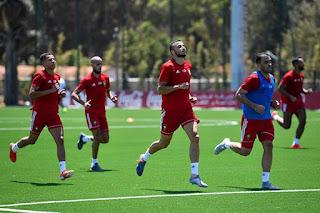 الكعبي و بوطيب يعودان إلى التدريب و المنتخب المغربي يتدرب بقسوة