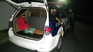 Guarda Civil de Itu apreende menor com drogas pelo bairro Jd. União