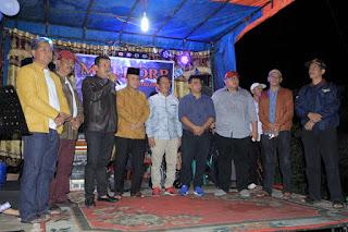 Spesial, Malam Hiburan di Taruko Dihadiri Enam Anggota DPRD Kota Solok