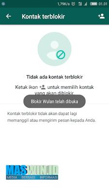 Cara mudah untuk membuka nomor terblokir pada WhatsApp terbaru 2019