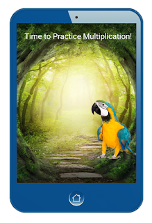 Rainforest Multiplication Coding App