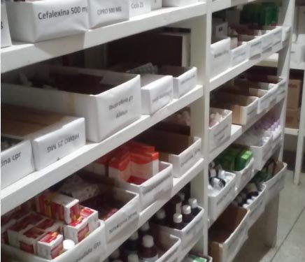 TCE: 84% dos armazenamentos de remédios têm vistoria fora do prazo