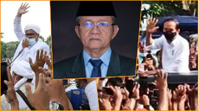 Picu Kerumunan, Waketum MUI: HR5 Ditahan, Jokowi juga Harus Ditahan Supaya Keadilan Tegak