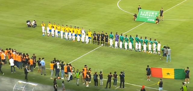 البرازيل تتعادل مع السنغال 1-1 فى مباراة ودية