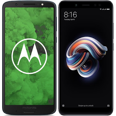 Motorola Moto G6 Plus vs Xiaomi Redmi Note 5 64G