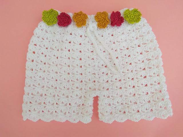1 - Crochet Imagen Shorts de verano a crochet y ganchillo por Majovel Crochet