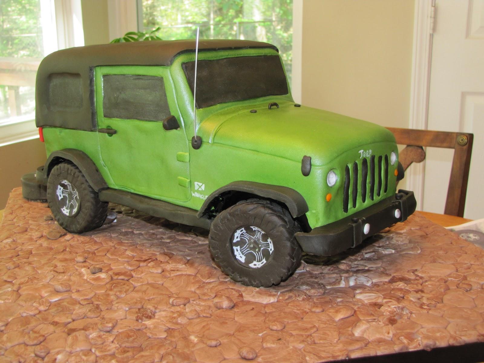 Jeep Birthday Cake Images