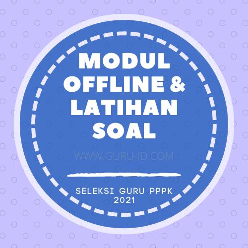 gambar modul offline seri belajar mandiri guru pppk 2021