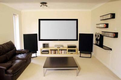 Desain Ruang Tamu Untuk Menonton TV