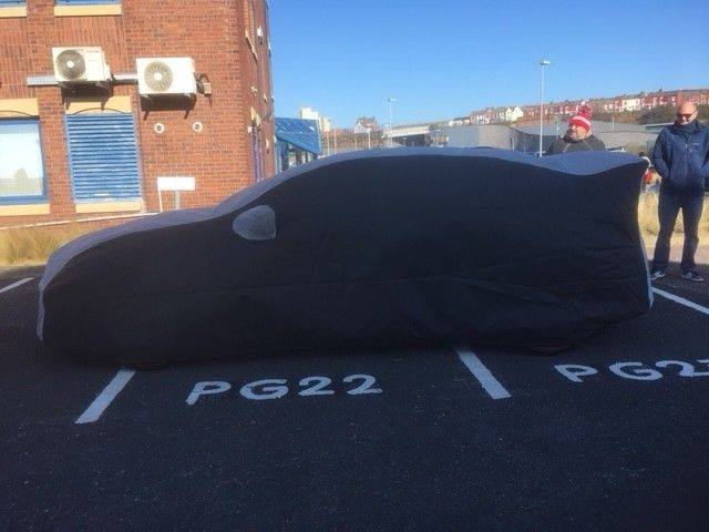 Below Is A Photo Of Us Fitting A Cielo Honda Civic Type R   FK8 Cover To  Customers Car At Local Cars And Coffee Meet In Liverpool.